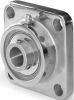 Washdown Stainless Steel 4-Bolt Flange -- UCFSS206-20SS
