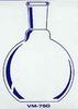 Single Neck Flat Bottom Flasks -- VM750-24