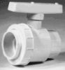 Single Union Ball Valve Pool & Spa:Soc x Soc -- PS4-020 Soc x Soc