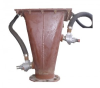 Pneumatic Conveyor Feed Hopper -- Airlift -- View Larger Image