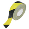 70 Mesh Safety Warning Striped Duct Tape -- DUCTCLO 3740 -Image