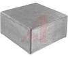 Enclosure;Diecast Aluminum;Natural Finish; 4.75L x 4.75W x 2.33H in -- 70148888