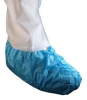 Epic Blue Large Disposable General Shoe Cover - Polyethylene Upper - 725783-L -- 725783-L - Image