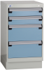 Stationary Compact Cabinet with Partitions -- L3ABG-2815L3C -Image