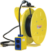 1200 Series PowerReel® - 12AWG / 3 Conductors w/ GFI Receptacle Box, Dual 20A/125V 25FT Length -- XA-121120302517
