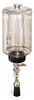 "(Formerly B1745-7X01), Manual Chain Lubricator, 1/2 gal Polycarbonate Reservoir, 1"" Round Brush Nylon -- B1745-064B1NR3W -- View Larger Image"