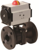 Pneumatically Actuated Carbon Steel Valve -- PHC FL - AP Series -Image