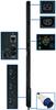 3-Phase Monitored PDU,12.6 KW, 36 208V Outlets (30 C13, 6 C19), 10-ft. IEC-309 Blue 60A Input, 0U Vertical Mount -- PDU3VN10G60