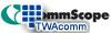 CommScope - Uniprise Modular Plate -- UNF-MFM-4P-WH
