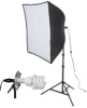 KSB-500 ECONOMY SOFTBOX LIGHT KIT: 500 WATT 1-LIGHT SOFTBOX LIGHT KIT -- 408085