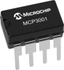 Successive Approximation Register (SAR) A/D Converters -- MCP3001 - Image