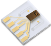 Miniaturized Planar Liquid Flow Sensor -- LPG10
