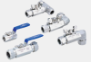 210 SERIES BALL VALVES (TWO PIECE TYPE) -- SBVA210