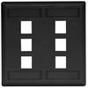 Datacommunication Face Plate -- IFP26BK - Image