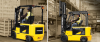 Electric Forklift with Cushion Wheels -- 30/32BC-7 -- View Larger Image