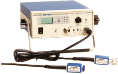 The Krytar Model 9000B is a low cost, high performance CW power meter using a diode based power sensor.