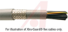 Cable, Shielded; 4; 14 AWG; 41 x 30; Tinned Copper Braid (85% Coverage); -5 deg -- 70139832
