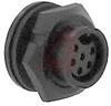 Connector; #20; Solder Cup; 6; Socket; Gold over Nickel 600 V -- 70025448