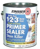 WATER BASED PRIMER SEALER BULLS EYE 1 2 3 GALLON -- IBI466055
