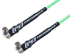 SMA Male Right Angle to SMA Male Right Angle Low Loss Cable 60 Inch Length Using PE-P160LL Coax -- PE3C5248-60 -Image