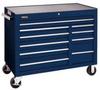 Rolling Workstation,50 In,10 Dr,Blue -- 5RRL2