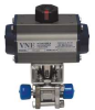 Actuated Ball Valve,1 In,316 SS -- 14N252 - Image