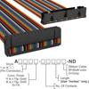 Rectangular Cable Assemblies -- A3BKB-3418M-ND -Image