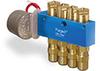 Motor Operated PurgeX for Liquid with External Volume Adjustment, 4 Feeds, 1 RPM, 120V/60Hz, Bracket -- B3474-B4B120601