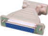 DB9 Female and DB25 Female Serial Loopback Adapter – RS-232 -- LB114 - Image