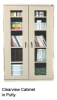 CLEAR VIEW STORAGE CABINETS -- HCA2V361842