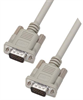 Premium Molded D-Sub Cable, HD15 Male / Male, 5.0 ft -- HAD00010-5F -Image