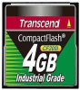 Transcend CF200I Industrial Grade - Flash memory card - 4 GB -- TS4GCF200I
