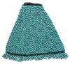 "Rubbermaid Web Foot® Microfiber Wet Mop - 5"" Medium -- RM-A85206GRE"
