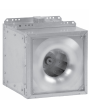 Square Inline Fans with Multi-Directional Discharge -- SQN - Image