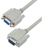 Deluxe Molded D-Sub Cable, HD15 Male / Female, 5.0 ft -- HAD00002-5F -Image