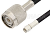 SMA Male to TNC Male Cable 12 Inch Length Using 75 Ohm RG59 Coax -- PE36848-12 -Image
