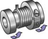 Adjustable Indexing Spring Clutch -- SP50-4