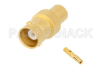 Standard BNC Female Connector Solder Attachment for PE-SR401FL, PE-SR401AL, RG401/U -- PE45150 -Image