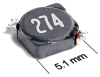 MSS5121 Series Shielded Surface Mount Power Inductors -- MSS5121-223 -Image