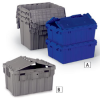 AKRO-MILS Attached-Lid Totes -- 4468600