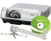 WXGA Ultra Short-Throw Projector with Software and Mount -- PLC-WL2503SE2