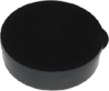 Conductive Round Container w/ Cover -- LA4012
