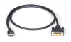 Locking HDMI-to-DVI Cable 2m (6.5ft.) -- VCL-HDMIDVI-002M -- View Larger Image