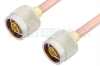 N Male to N Male Cable 36 Inch Length Using RG401 Coax, RoHS -- PE3782LF-36 -Image