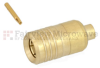 SMB Plug Push-On Connector Solder Attachment For RG405 Cable -- FMC01045 -Image