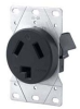 Straight Blade Power Receptacle -- 9303