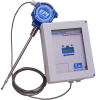 Insertion Remote Thermal Mass Flow Meter High Temperature -- 8200MPHT