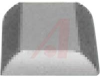 Rubber Foot With Self-Adhesive Backing,13/16 Square Inches x 5/16 Inch High -- 70148692
