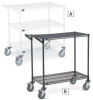 RELIUS SOLUTIONS Decorator Wire Utility Carts -- 6087330