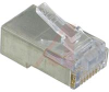 CONNECTOR,EZ-RJ45 MODULAR PLUG,CATEGORY6,FOR TWISTED PAIR CABLE, SHIELDED -- 70000382